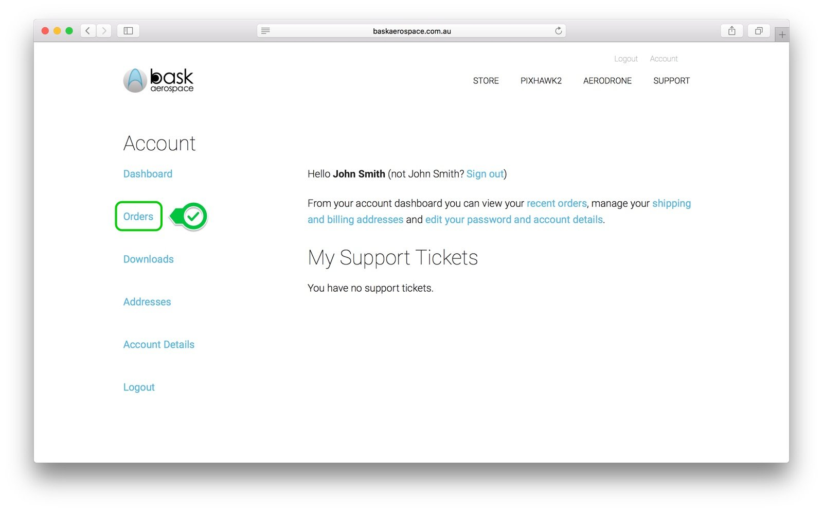 myaccount-page-screenshot